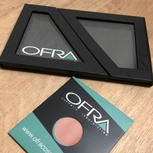 Ofra organizing palette + blush